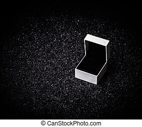 Empty white box