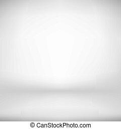 Empty White Studio Backdrop Interior in Vector EPS 10