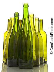 Empty Wine Bottles