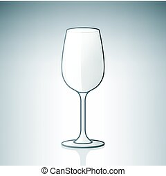Empty Wine Glass (part of the Alcohol Glass Icons Set)