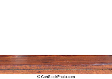 Empty Wooden table , Wooden table texture background.