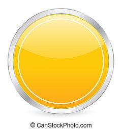 empty yellow circle icon