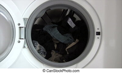 Emptying Washing Machine
