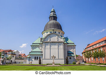 Emsland Dom church in the center of Haren, Germany