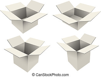 Emty boxes