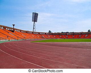 emty, tor wyścigowy, stadion