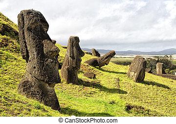 en, chile, el, antigüedad, y, mysteriuos, estatua