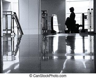 en, el, aeropuerto
