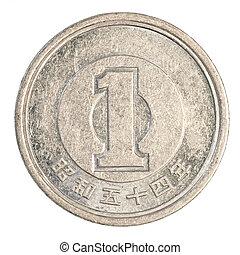 en, japanska yen, mynt