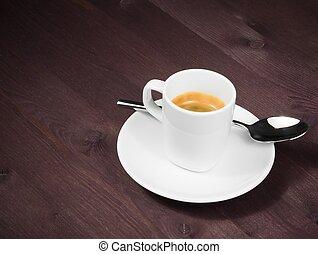 sæd i en kop