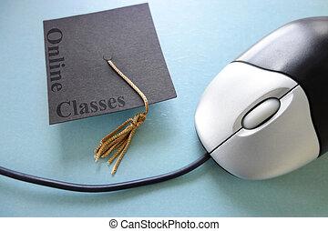 en línea, clases