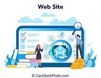 en línea, seguro, servicio, empresa / negocio, financiero, ...