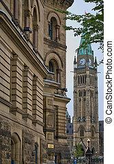 en ville, parlement
