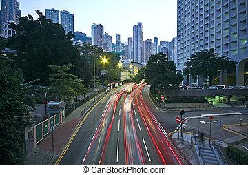 en ville, trafic