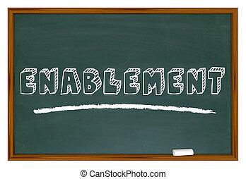 enablement, poparcie, upoważniony, ilustracja, szybkościomierz, 3d
