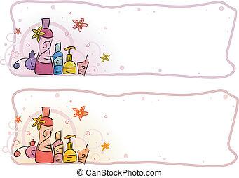 encabezamiento, perfume