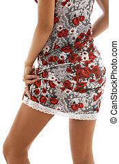 encaje, vestido, #3