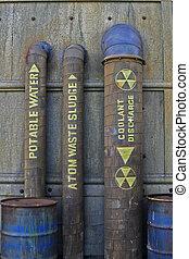 encanamento, nuclear