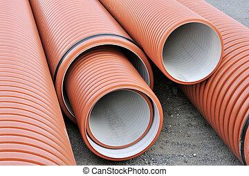encanamento, tubos