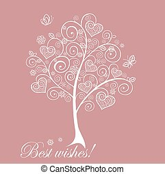 encantador, árvore