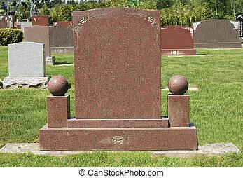 encantador, lápida