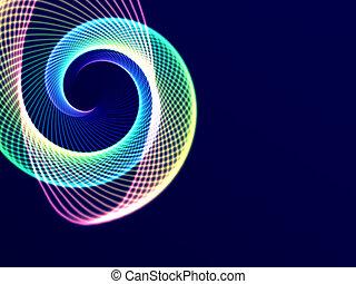 encendido, espiral