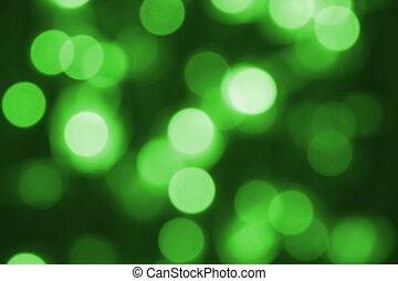 encendido, luz de navidad, como, plano de fondo