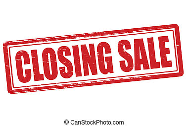 encerramento, venda