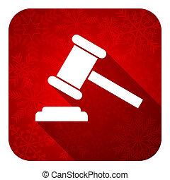 enchère, plat, icône, noël, bouton, tribunal, signe, verdict, symbole