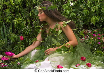 Enchanted Garden (indoor shoot)