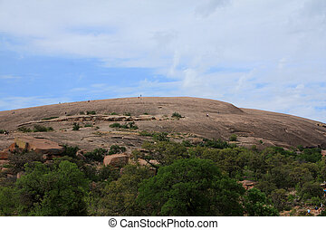 Enchanted Rock Park in Texas hill country