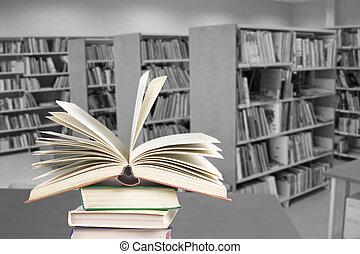enciclopedia, library.