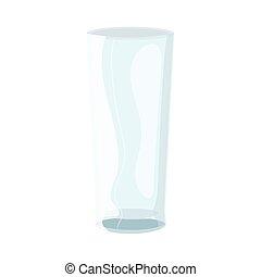 encima, vidrio, plano de fondo, pilsner, blanco, mockup, ...