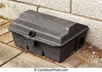 Enclosed Rat trap safety poison - Enclosed Rat trap for...