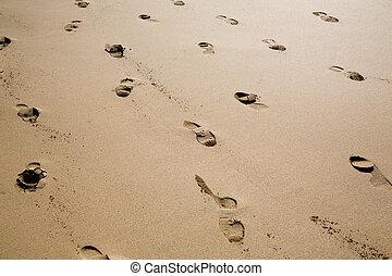 encombrements, sable