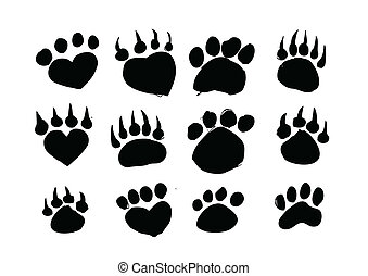 encombrements, silhouettes, animal