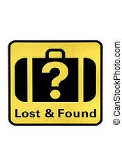 encontrado, perdido