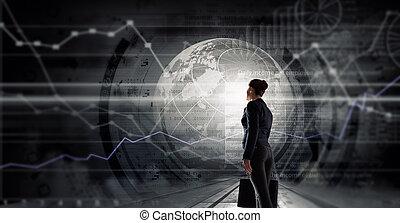 encontrar, nuevo, tecnologías