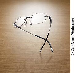 encore, élégance, lunettes