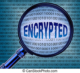 encrypted, interpretación, codificado, exposiciones, datos, 3d