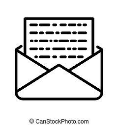 encrypted message illustration design
