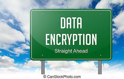 encryption, dane, szosa, signpost.