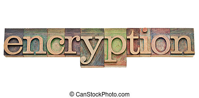 encryption - security concept