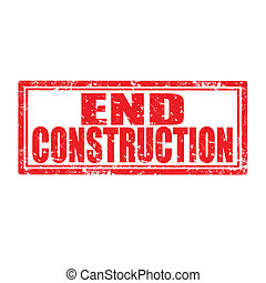 End Construction-stamp