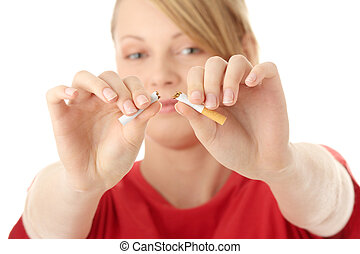 End of smoking