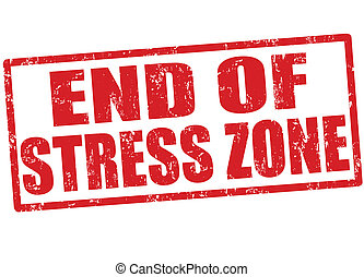 End of stress zone stamp