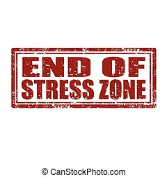 End Of Stress Zone-stamp