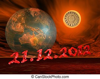 End of the world's maya prophecy - Maya prophecy on the sun...