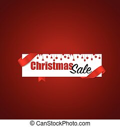 End of year sale, Christmas sale design template. Sale...