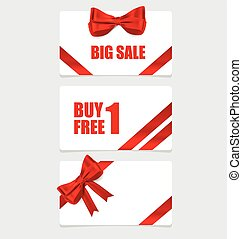 End of year sale savings labels set. Modern Style template...